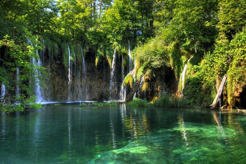 Parque nacional Plitvice fotografia de stock royalty free