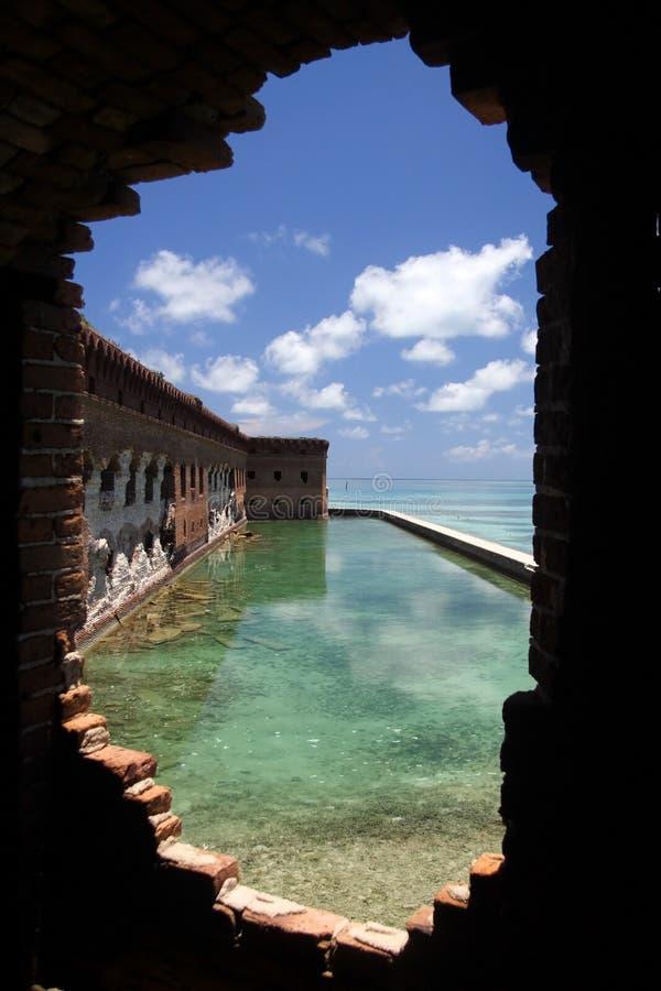 Parque nacional seco de Tortugas imagen de archivo
