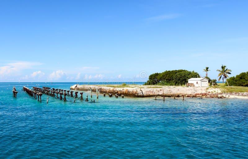 Parque nacional seco de Tortugas fotos de stock