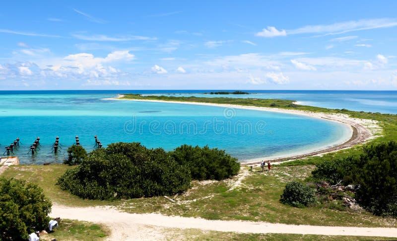Parque nacional seco de Tortugas fotografia de stock