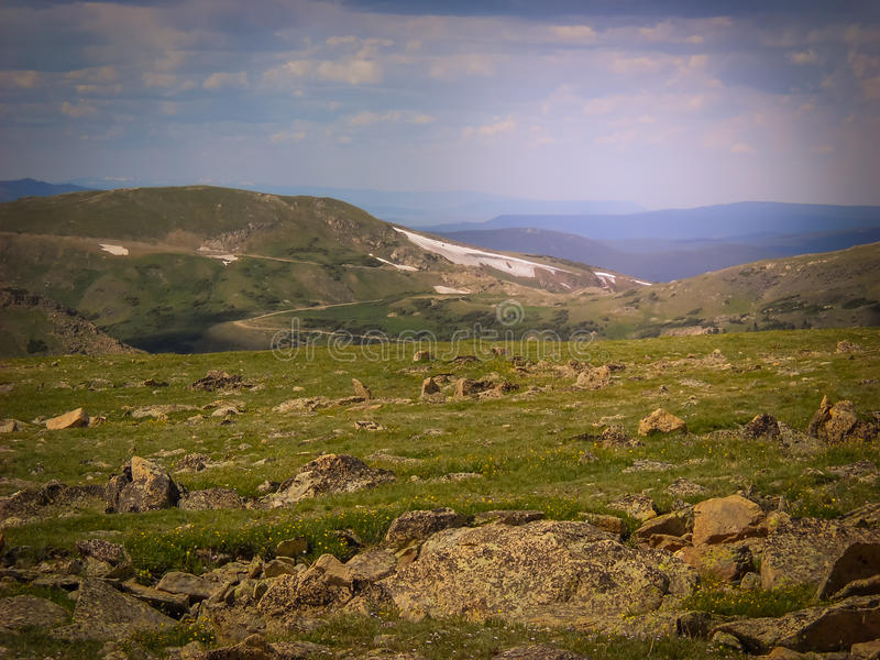 Parque nacional septentrional de Colorado Estes Park Colorado Rocky Mountain fotos de archivo libres de regalías