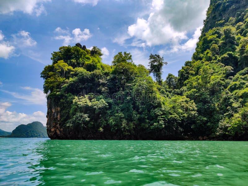 parque nacional Tailandia de la bahía de Phang Nga fotos de archivo