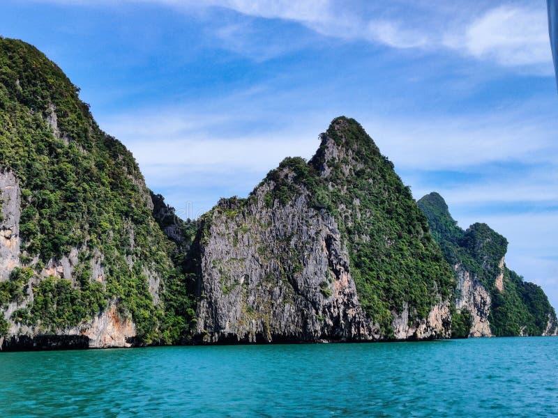 parque nacional Tailandia de la bahía de Phang Nga fotografía de archivo libre de regalías