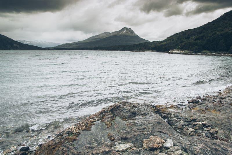 Parque Nacional Tierra del Fuego, Ushuaia royaltyfria bilder
