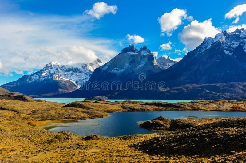 Parque Nacional Torres del Paine, Chili photographie stock libre de droits