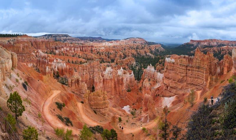 Parque nacional Utah del barranco de Bryce imagen de archivo