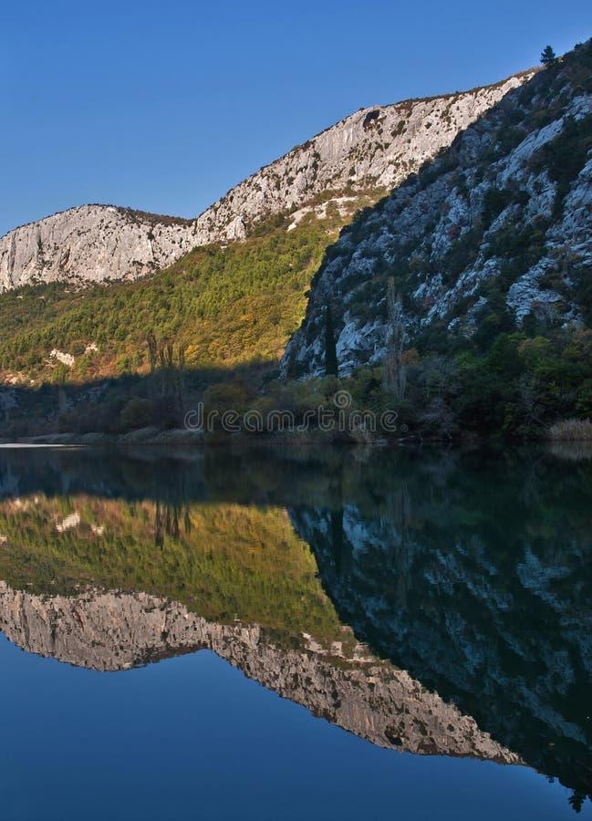 Download Parque natural Cetina 1 imagem de stock. Imagem de canal - 22235311