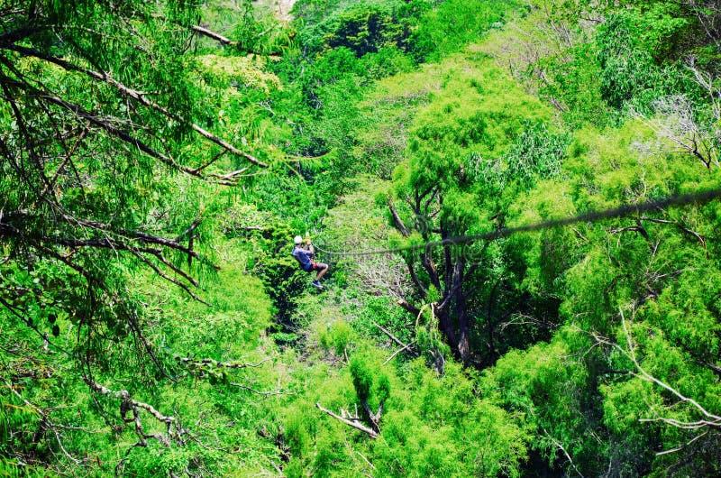 Parque natural del EL Chiflon, Chiapas, México, el 21 de mayo fotografía de archivo libre de regalías