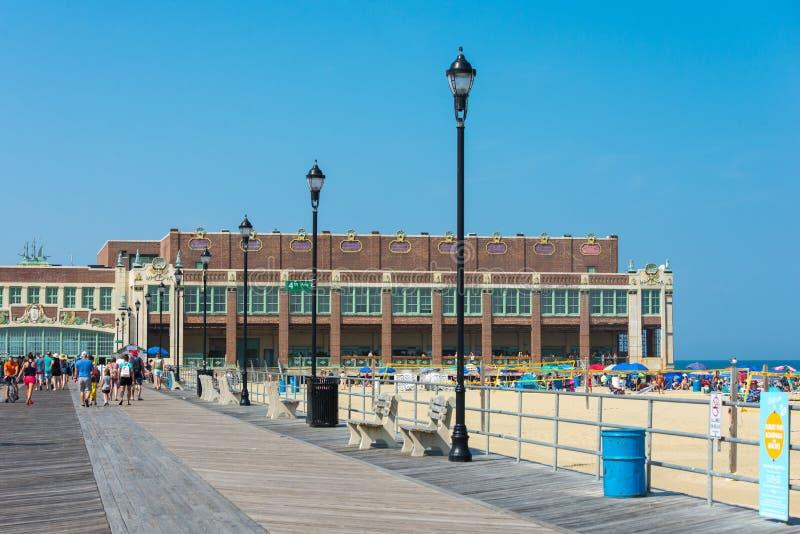 Parque New Jersey de Asbury imagen de archivo libre de regalías