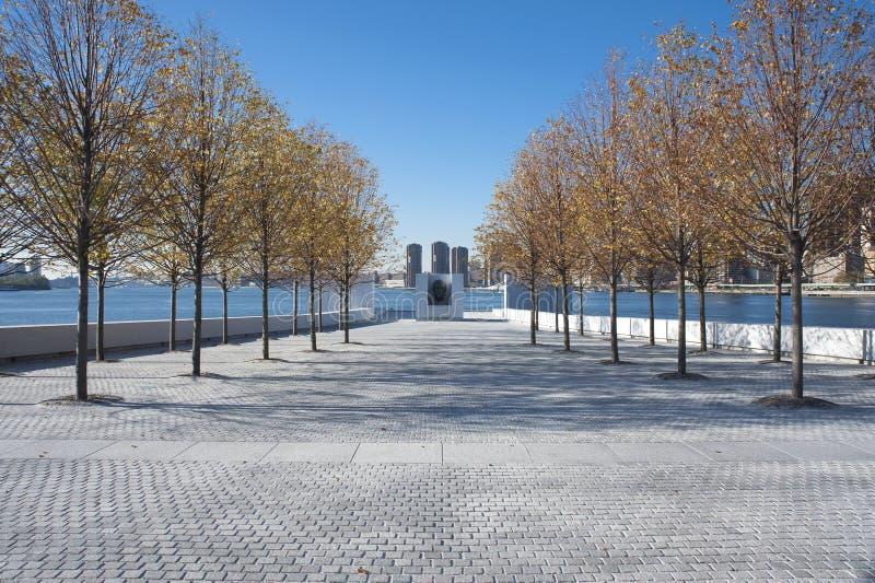 Parque New York City de quatro liberdades fotografia de stock royalty free