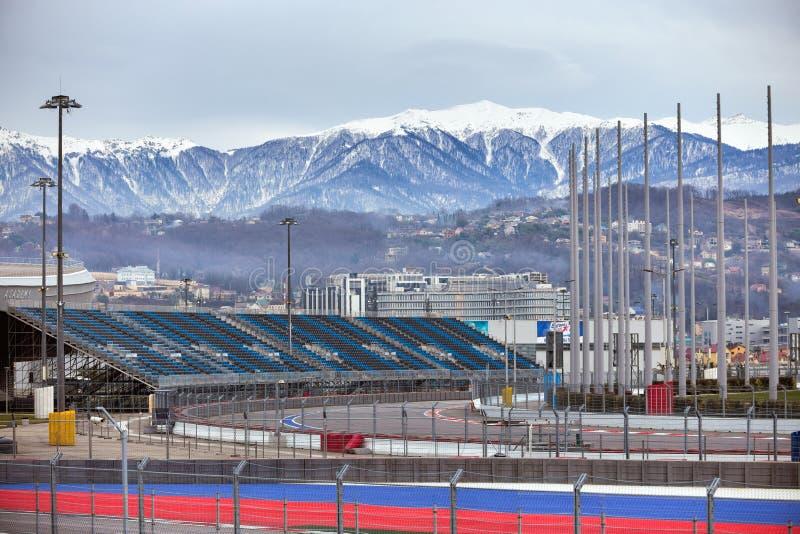 Parque olímpico de Sochi Rusia fotografía de archivo libre de regalías
