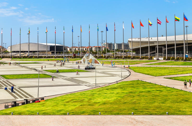 Parque olímpico de Sochi Rusia foto de archivo libre de regalías