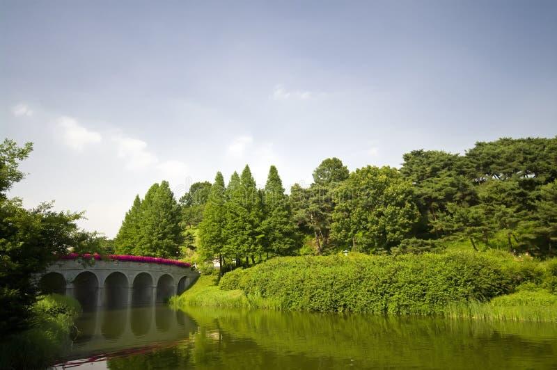 Parque olímpico em Seoul imagens de stock royalty free