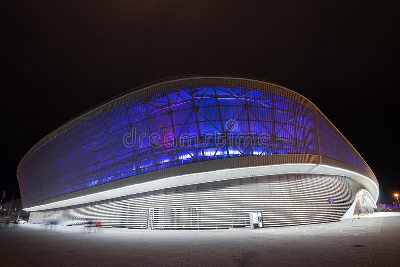 PARQUE OLÍMPICO, SOCHI, RUSIA - CIRCA MARZO DE 2015 imágenes de archivo libres de regalías