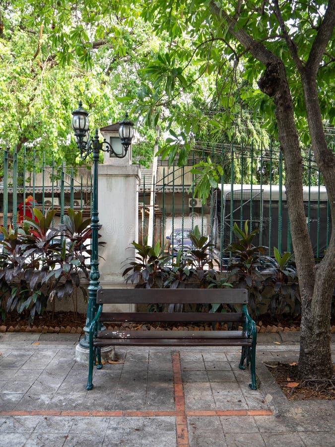 Parque público en princesa Mother Memorial Park, Bangkok, Tailandia foto de archivo libre de regalías