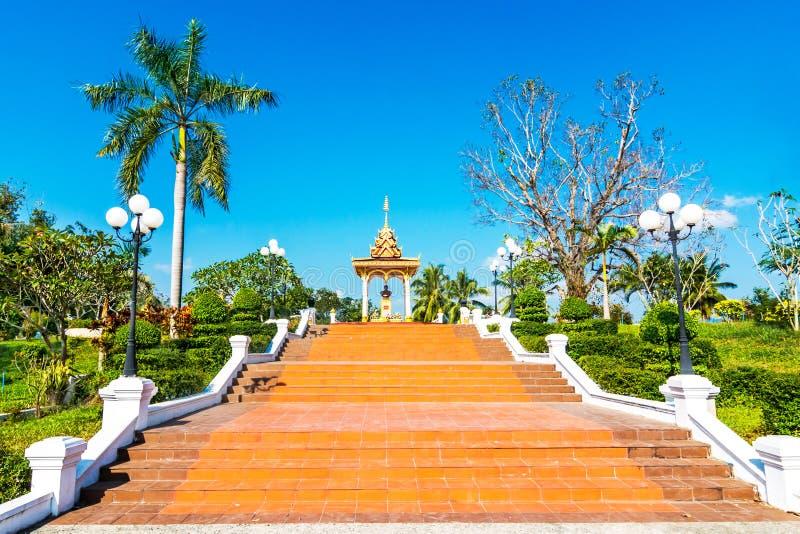 Parque público, Luang Prabang, Laos imagens de stock royalty free