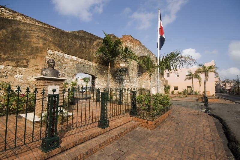 Parque patriótico Santo Domingo imagem de stock