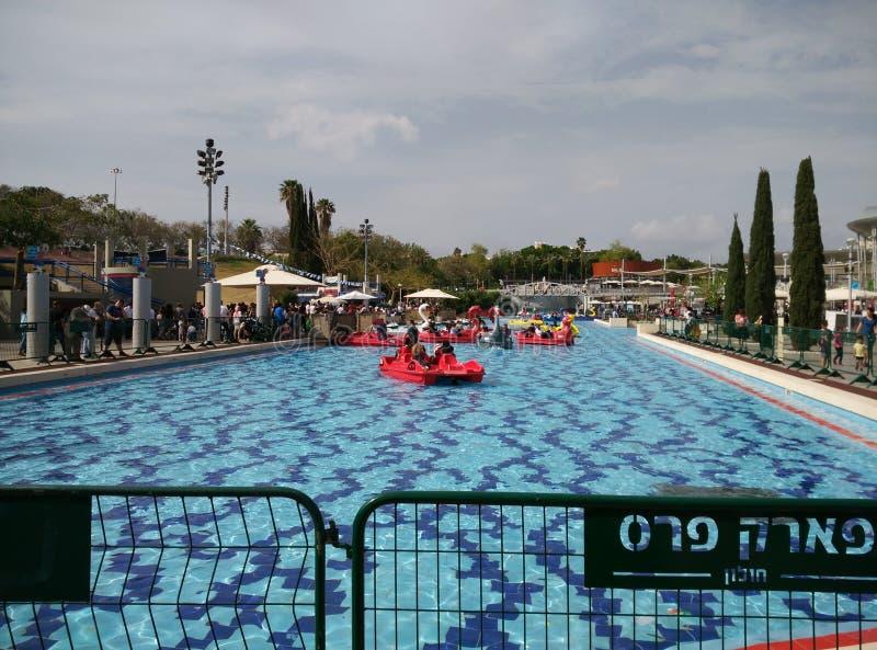 Parque Peres, Holon, Israel foto de stock royalty free