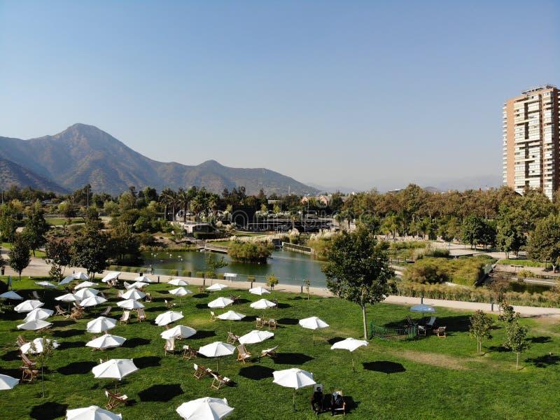 Parque piacevole di bicentenario della città del parco immagine stock libera da diritti