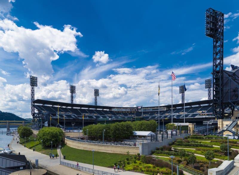 Parque Pittsburgh de PNC imagen de archivo libre de regalías