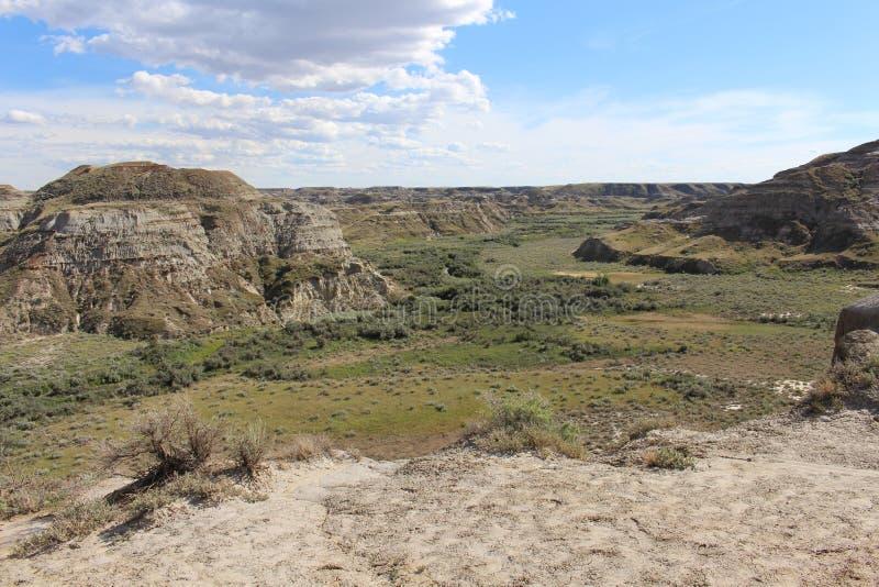 Parque provincial do dinossauro fotografia de stock