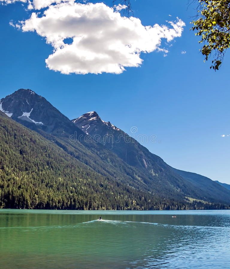 Parque provincial do lago Birkenhead BC foto de stock