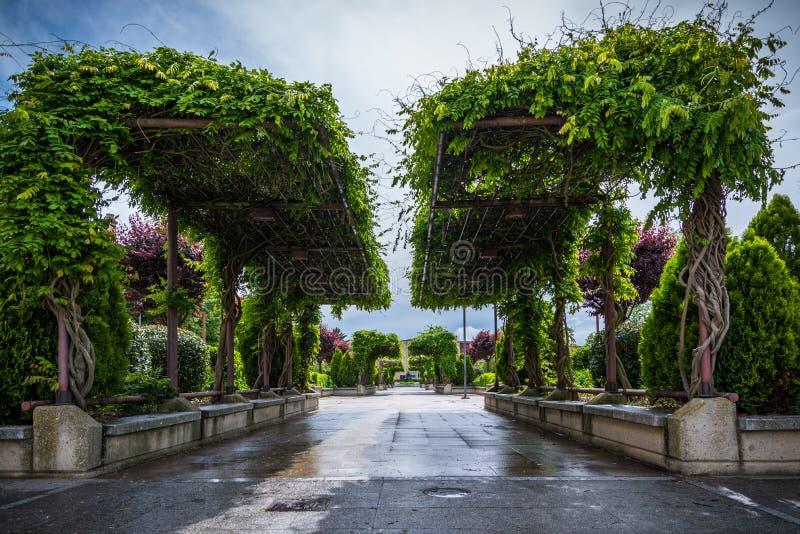 Parque que eu publico imagem de stock royalty free