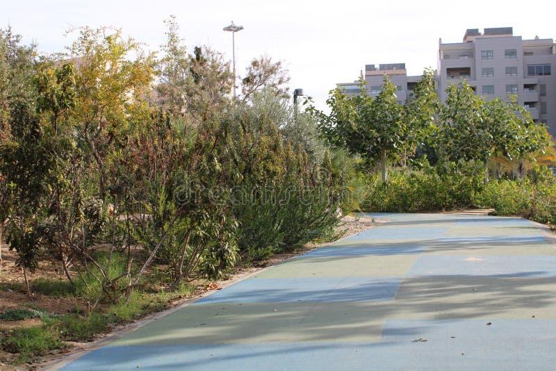 Parque recreativo en la ciudad fotografía de archivo libre de regalías