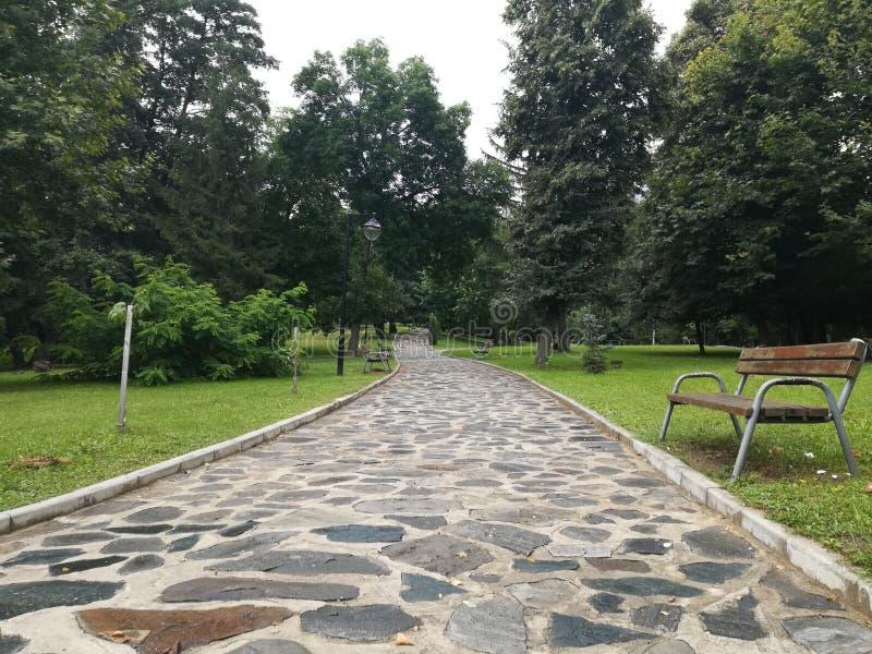 Parque Rila, Dupnitsa, Bulgaria imagen de archivo libre de regalías