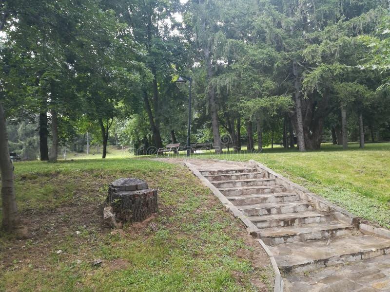 Parque Rila, Dupnitsa, Bulgaria fotografía de archivo libre de regalías