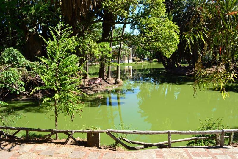 Parque Rodo, Montevideo royaltyfri foto