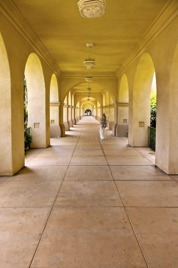 Parque San Diego California do balboa das perspectivas. fotografia de stock royalty free
