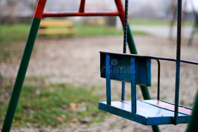 Parque solitário fotografia de stock royalty free