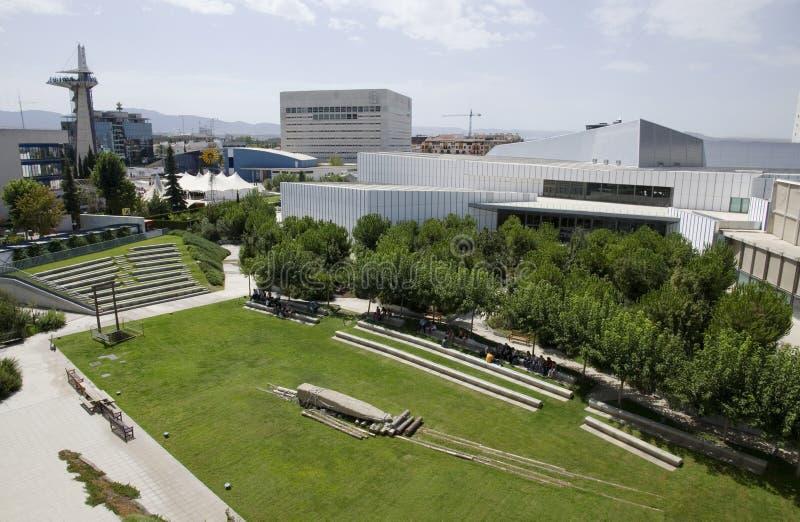 Parque tecnológico de Granada regional fotografía de archivo libre de regalías