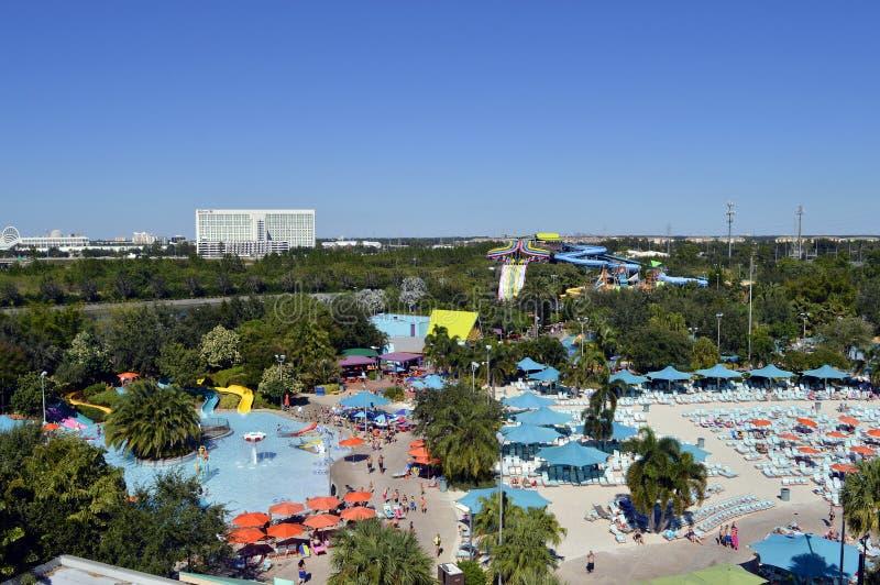 Parque temático de Aquatica en Orlando fotografía de archivo libre de regalías