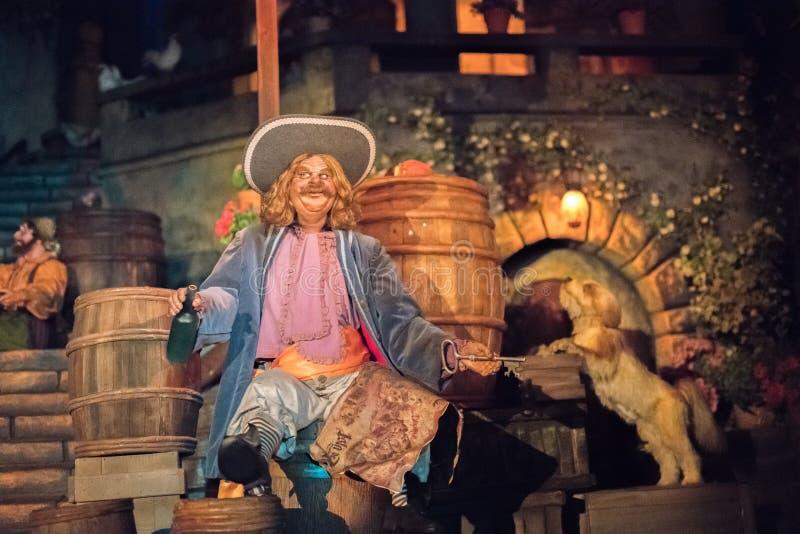 Parque temático de Disneyland Resort en Anaheim, California imagenes de archivo