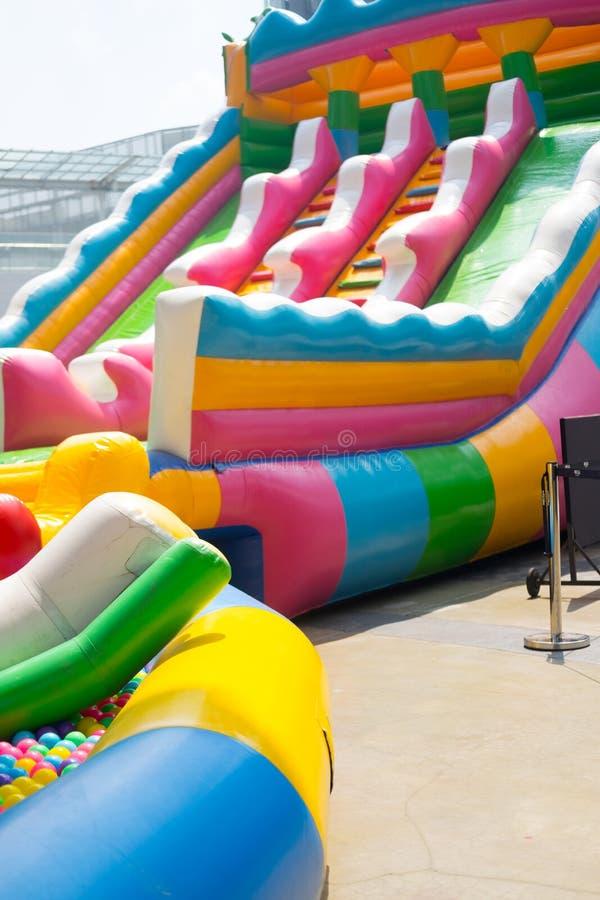 Parque temático grande da água do feriado foto de stock royalty free