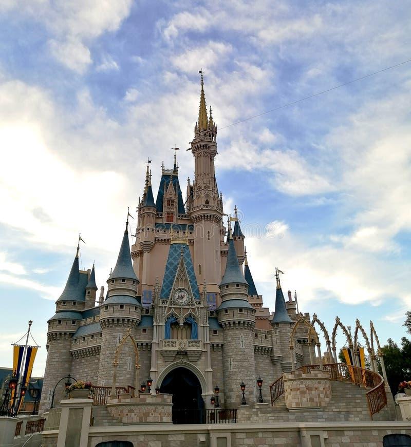 Parque temático Magic Kingdom en Walt Disney World foto de archivo