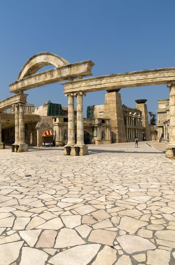 Parque temático romano imágenes de archivo libres de regalías