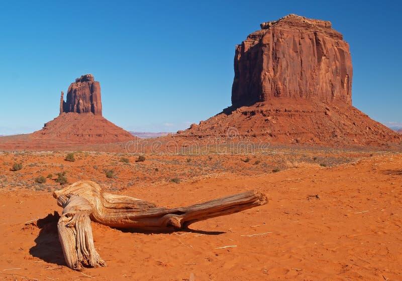 Parque tribal de Navajo del valle del monumento fotos de archivo