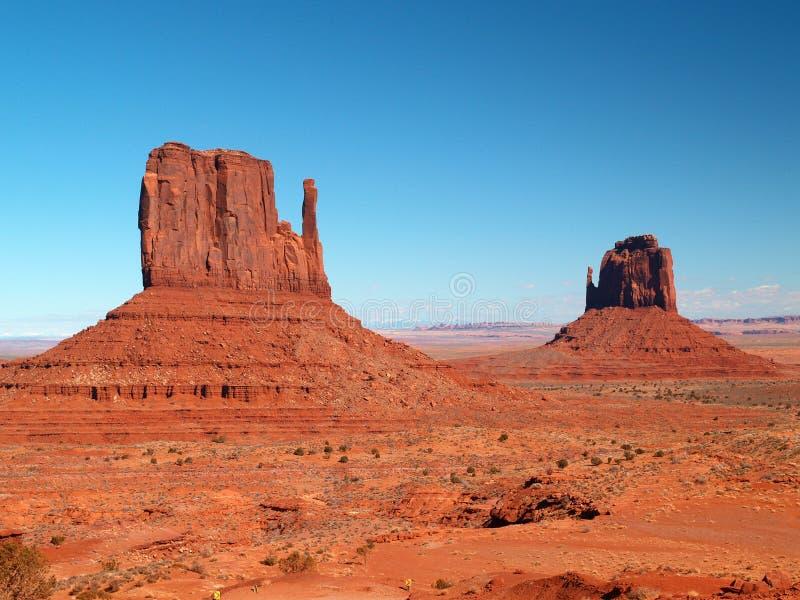 Parque tribal do Navajo do vale do monumento foto de stock
