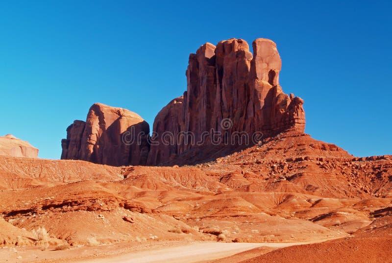 Parque tribal do Navajo do vale do monumento fotos de stock royalty free