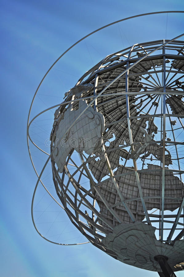 Parque Unisphere de la corona de Flushing Meadows imagen de archivo