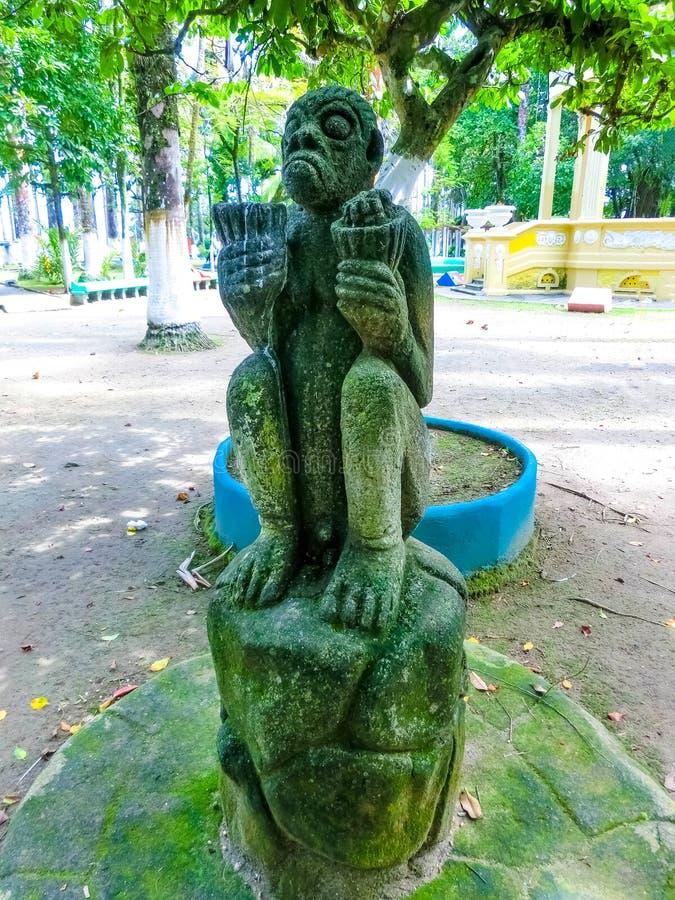 Parque Vargas, City Park in Puerto Limon, Costa Rica. Parque Vargas, City Park in Puerto Limon at Costa Rica royalty free stock photos
