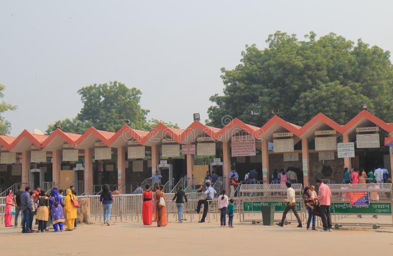 Parque zoológico Nueva Deli la India fotos de archivo libres de regalías