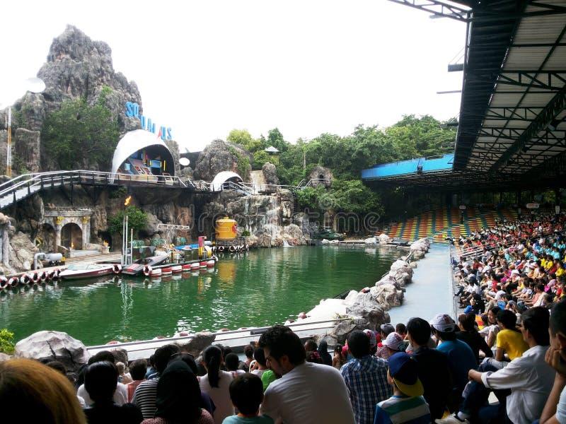 Parques de atracciones en Bangkok, Tailandia imagen de archivo
