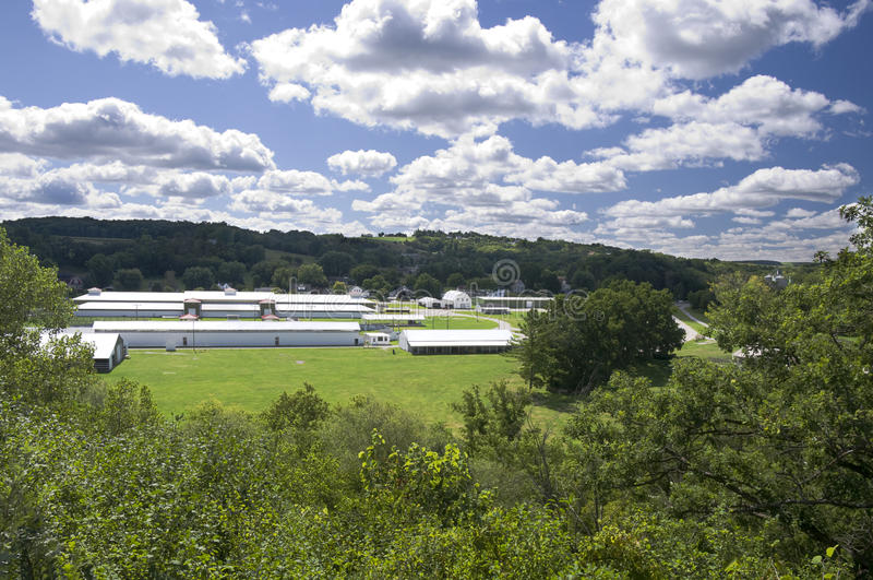 Parques de atracciones y pen¢ascos del condado de Fillmore fotografía de archivo libre de regalías
