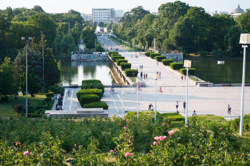 Parques de Bucareste imagem de stock royalty free