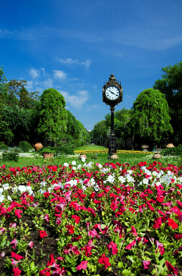 Parques de Bucareste e jardins - Cismigiu fotos de stock royalty free
