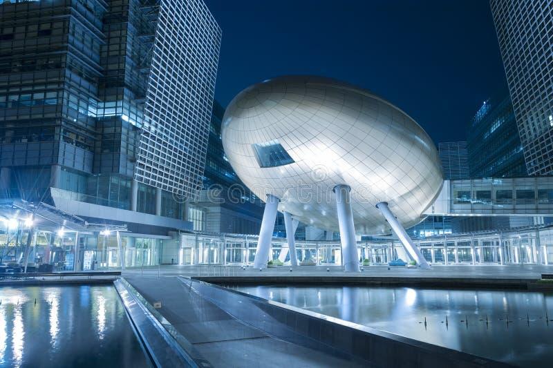 Parques de Hong Kong Science e de tecnologia fotos de stock royalty free
